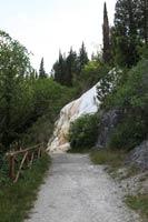 La strada per raggiungere il fosso bianco