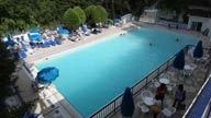La piscina delle terme san filippo
